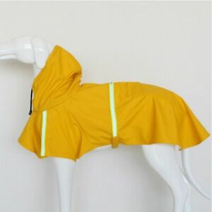 Dog Reflective Raincoat Jacket Outdoor Protect Vest Puppy Clothes Tools Outside