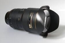 Nikon AF-S NIKKOR 16-35mm f/4G ED VR Lens; clean