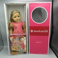 American Girl Isabelle & book- With Hair Extension- NIB Girl of the Year 2014