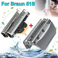 For Braun Series 5 8000 Shaver 51S Replacement Foil & Cutter Head 5643 5758   <.