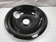"Genuine GE WB31T10015 Black Porcelain 8"" Burner Bowl NEW"