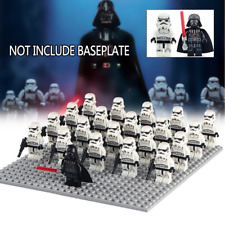 STAR WARS Darth Vader + Stormtroopers 21pcs,Minifigures Fits Lego First order