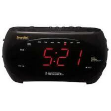 Emerson SmartSet Dual Auto Am/Fm Clock/Radio (# Cks2862)