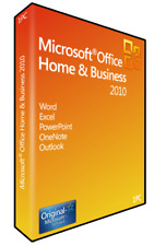 Microsoft Office 2010 Home and Business (Outlook, Word, Excel  usw) Vollversion
