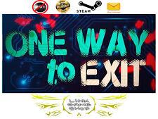 One way to exit PC Digital STEAM KEY - Region Free