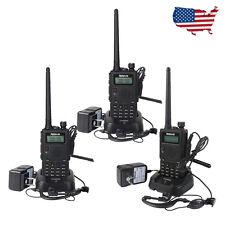 3pcs Retevis RT5 Walkie-Talkie 128CH UHF / VHF 8W Scan VOX 1750Hz 2-Way Radio US