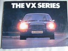 Vauxhall VX range brochure Jan 1976 small format