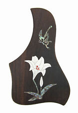 Rosewood Pickguard Acoustic/Classical Guitar Rightside, free ship Lily-PGTLRC01