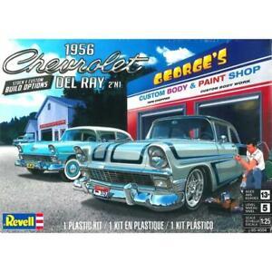 REVELL 14504 1/25 56 Chevy Del Ray Plastic Model Kit Brand New