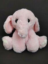 "9"" Aurora World baby pale pink elephant plush stuffed animal soft toy"