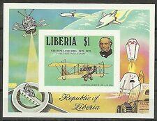 FLUGZEUGE/ Liberia MiNr Block 93 B ** UNGEZÄHNT