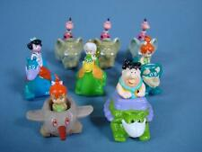 Denny's Flintstones Dino Racers - Set of 7 Toys Fred BamBam Pebbles Dino Betty