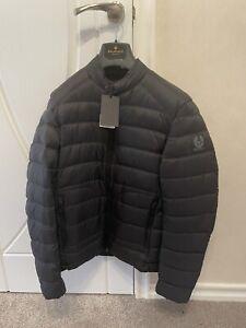 belstaff puffer jacket Size 44 Halewood Down Black