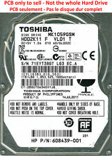 PCB G002641A - Toshiba MK1059GSM - HDD2K11 F VL01 T - A0/GL002C - 1To