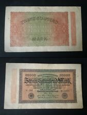 BANCONOTA GERMANIA  20000 MARK 1923