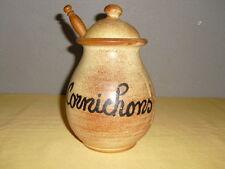 VALLAURIS Pot à Cornichon terre cuite artisanale
