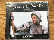 JEANNE LA PUCELLE (Jordi Savall) OOP 1994 Auvidis Soundtrack CD SEALED