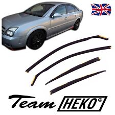 Wind Deflectors VAUXHALL VECTRA C mk3 HATCHBACK  2002-2008 4pc HEKO TINTED