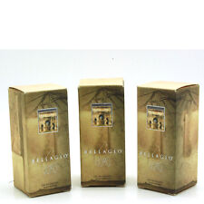 Bellagio 0.2 fl oz - 6 ml Eau De Toilette Mini Splash for Men (Package of 3)