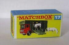 Repro Box Matchbox 1:75 Nr.17 Horse Box