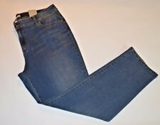 Chico's Size 3 Womens Jeans (Short Inseam) Premium Denim Sublime Slim Leg NEW BM