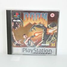DOOM - PLATINUM - SONY PLAYSTATION PSONE PS1 GAME - MINT