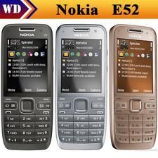 Nokia E52 Mobile Phone Bluetooth WIFI GPS 3G HSDPA 900 / 2100 Cell Phone