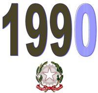 ITALIA Repubblica 1990 Singolo Annata Completa integri MNH ** Tutte le emissioni