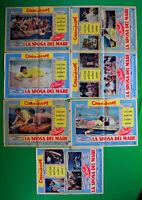 H39 Lot Fotobusta Die Braut Der Meer Richard Burton Joan Collins Sidney Crant