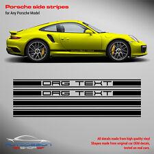 Rocker Panel decal set to any Porsche