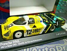 PORSCHE 956 L Le Mans #12 Joest New Man 1983 Schickentanz Minichamps SP 1:43