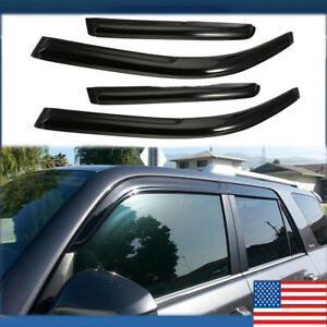 Window Visors Rain Guard For Toyota 4Runner 2003 2004 2005 2006-2009 03-09