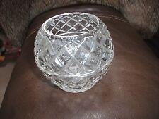 Bohemia República Checa Cristal de plomo más del 24% De Olla/Florero - 8.5 cm Borde Alto - 6 Cm Diam.