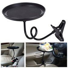 Portable Round Car Multifunctional Tray Bracket Car Drink Holder / Dining Table