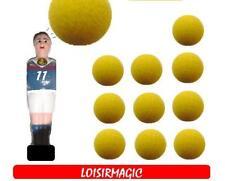 11 X balle de baby foot lièges jaunes PRO  ***