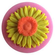 Sunflower Silicone Mold for Fondant Gum Paste Chocolate Crafts