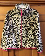NWT Beautiful Leopard Fur Faux Girl's Coat Jacket Size 4 (xs) Children's place
