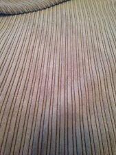 10m Rolls Job Lot Of Mocha Skinny Jumbo Cord Upholstery Fabric, Free P+P