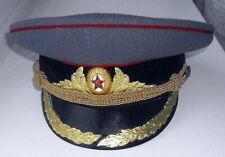 Officer Cap Hat Russian Soviet USSR Military Uniform ceremonial cap 1955-1957