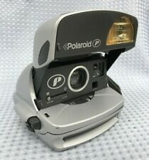 De Colección cámara de películas instantáneas Polaroid P 600 Plata Lado Agarre Toma 600 comprimidos