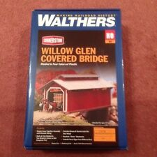 HO Scale Walthers Cornerstone 933-3652 Willow Glen Covered Bridge Kit