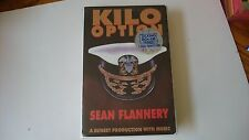 Kilo Option Sean Flannery Audio Book 4 Cassettes 1996