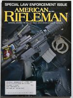 American Rifleman Magazine May 2001 Special Law Enforcement Issue