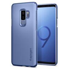 Original SPIGEN Schutzhülle für Samsung Galaxy S9+ PLUS Thin Fit Cover Case blau