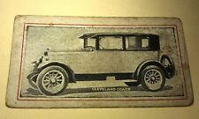1924 ?  CLEVELAND COACH   - Griffiths Sweets Australia Orig Trade Card RARE