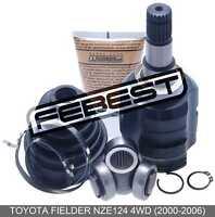 Inner Joint Left 23X35X20 For Toyota Fielder Nze124 4Wd (2000-2006)