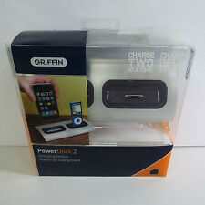 GRIIFIN POWER DOCK 2 CHARGING CRADLE DUAL-POSITION APPLE IPHONE 3 IPOD 3 (T13)