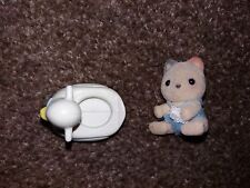 Sylvanian Families - Baby with Rubber Duck