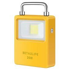 20W Portable LED Woking Light,Solar USB Rechargable Charging, IP65 Waterproof