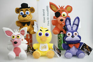 """NEW Funko Five Nights at Freddy's FNaF 6"""" Plush Very Hard to FIND"""
